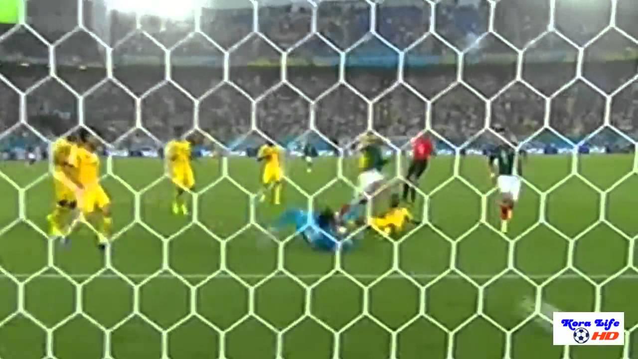 أهداف مباراة المكسيك و الكاميرون 1-0 MEXICO vs CAMEROON