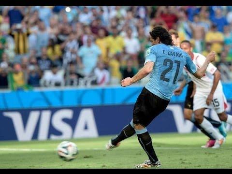 مباشرة و اهداف مباراة ارجواي و كوستاريكا 3-1 COSTA RICA vs URUGUAY