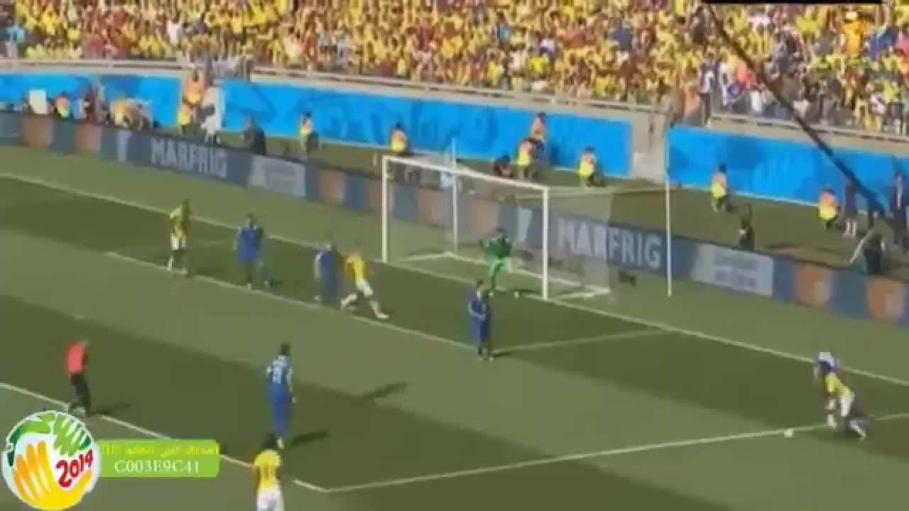 اهداف مباراة اليونان و كولمبيا 3-1 COLOMBIA vs GREECE
