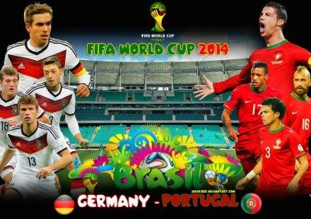 أهداف ألمانيا ضد البرتغال 4-0 GERMANY vs PORTUGAL