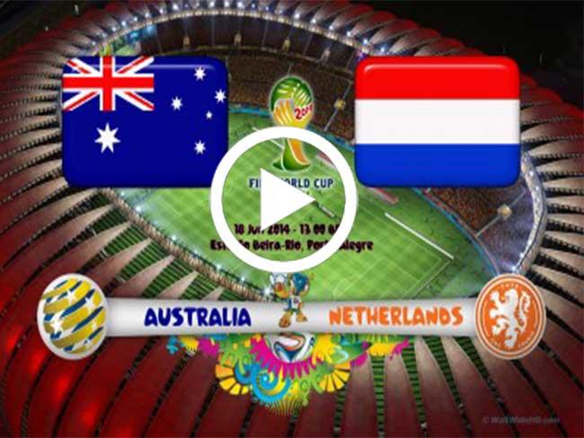 شاهد اهداف هولندا ضد استراليا 3-2 Netherlands vs Australia