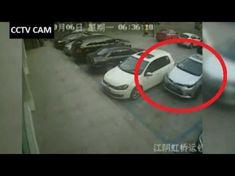 أسوء سائق سيارة في الصين