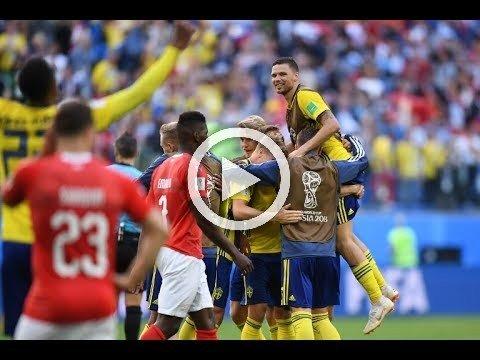 اهداف مباراة السويد وسويسرا